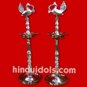 Brass Welcome Diya Ht 1 ft to 5 ft