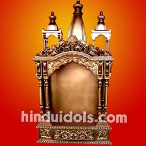 Wooden Statues Mandir Altars